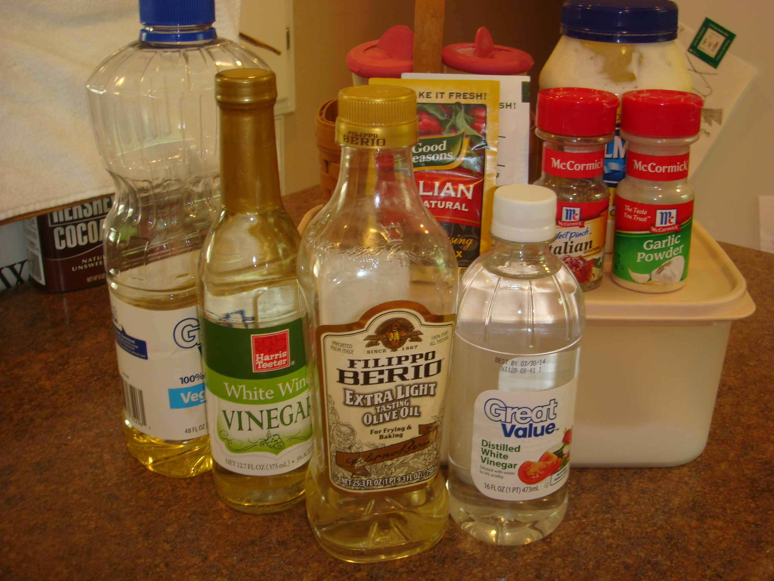 Copycat Recipe Olive Garden Dressing Barenaked Chef