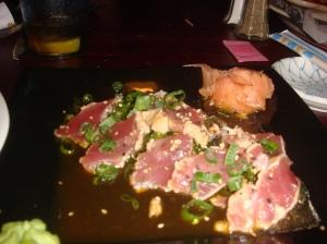 Mr. Fish sashimi