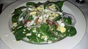 Spinach Salad Ni Fen