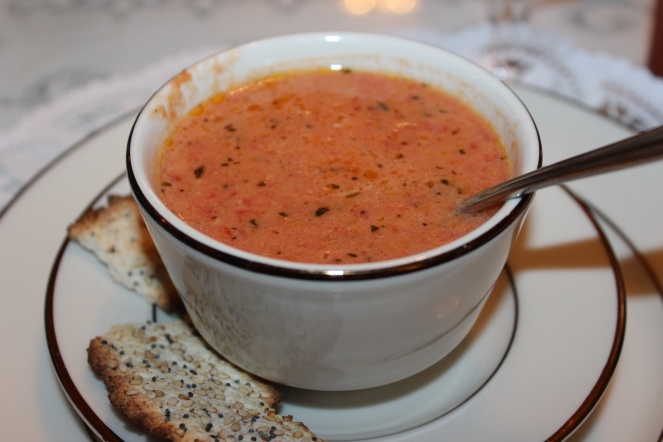 Tuscan Tomato Soup