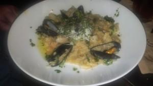 Shrimp and Crab Risotto