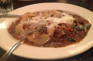 Papparadelle with Oxtail and Kobe Beef Ragu