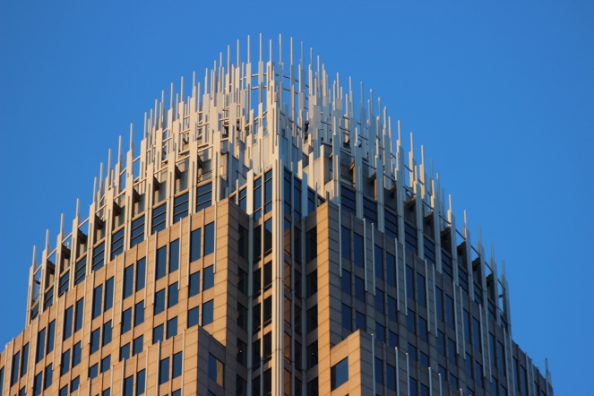 Bank of America Corporate Center top