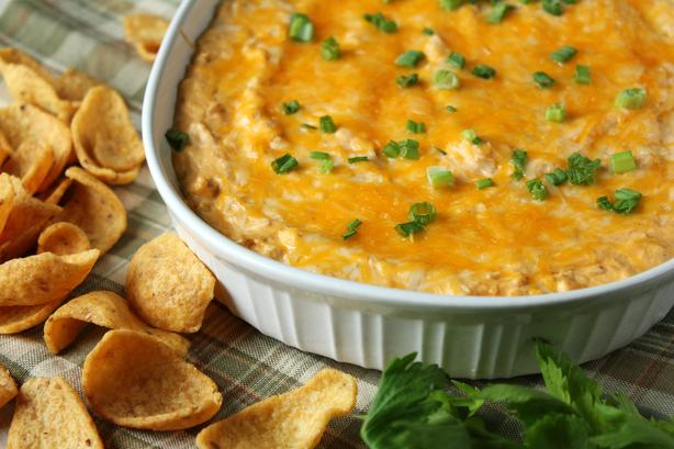 Buffalo Chicken Dip (photo by Delicious as it Looks)