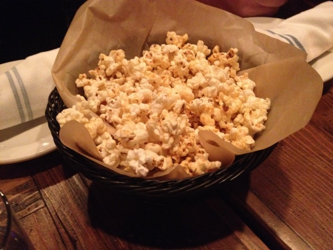 Chipotle spiced popcorn