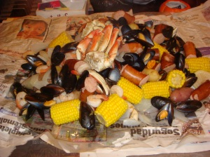Paula Deen Low-Country Boil 1