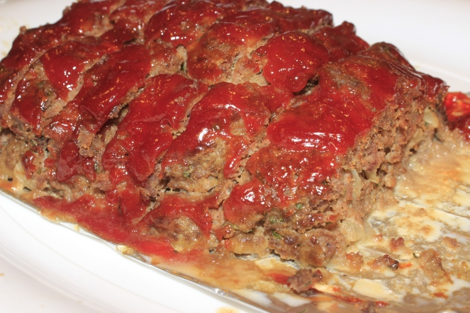 The Very Best Glazed Meatloaf