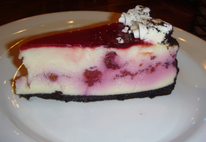 flatiron raspberry cheesecake